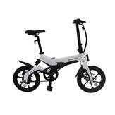 [EU Direct] ONEBOT S6 6.4Ah 36V 250W 16inch Klappmoped Fahrrad 3 Modi 25km / h Höchstgeschwindigkeit 50km Laufleistung Reichweite Elektrofahrrad Max. Zuladung 120kg