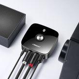 UGREEN bluetooth 4.1 Düşük Gecikme Kablosuz 3.5mm 2RCA Auido Müzik bluetooth Alıcı Adaptör Ev Müzik Akışı için Hoparlör Amplifikatör Akıllı Telefon Bilgisayar Tablet