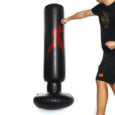 160cm PVC Inflatable Boxing Punching Bag Standing Gym Fitness Training Tool