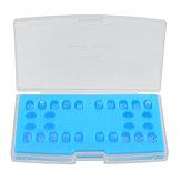 20 pacotes Cerâmico Suportes Ortodônticos Dental Ferramentas