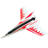 Solo kit aeroplano Stinger T750 750mm Wingspan EPO Racing Delta Wing RC