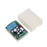 315MHz AC 220V 2 Channel RF Wireless Remote Control Switch System Module for Smart Home