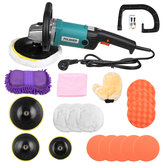 1600W 220V Electric Car Polisher Buffer Waxer Sander Floor Polishing Machine Kit