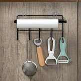 Kitchen Storage Tissue Holder Handuk Rack Hook Holder Kamar Mandi Shelf Hanging