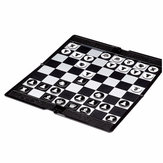 Magnetic Super Thin Chessboard Game Wallet Appearance Portable Folding Travel Family Party Chess Set International Chess Game