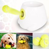 Interactieve Hyper Fetch Mini Treat Dog Cat Pet Ball Machine Launcher Toys Game Trainer