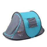 2-3 People Fully Automatic Camping Tent Windproof Waterproof Outdoor Tent Travel Sunshade Canopy