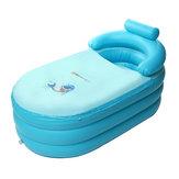 Портативный Blowup Для взрослых Spa ПВХ Складная Ванна Теплая Надувная Подушка Ванна Надувная Ванна