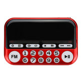Portable Digital Display FM Radio TF Card USB MP3 Music Player Clock Alarm Radio Speaker