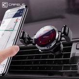 Cafele Geheugenhouder Ontluchter Auto Telefoonhouder Autohouder 360º Rotatie Bediening met één hand voor 4.5-6.5 Inch Smart Phone voor iPhone voor Samsung Xiaomi