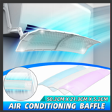 Air Conditioning Baffle Adjustable Foldable Air Conditioner Deflector Wind Shield
