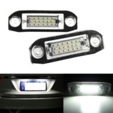 2x LED License Kentekenverlichting Voor Volvo C70 S40 S60 V50 V60 V70 XC60 XC90