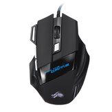 Przewodowa mechaniczna mysz RGB do gier 7 klawiszy 5500 DPI Mysz optyczna USB Mysz Mysz do gier Komputer PC
