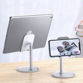 Floveme Aluminum Alloy Desktop Phone Holder Tablet Stand For 4.7-10.5 inch Smart Phone Tablet For iPhone For iPad For Samsung
