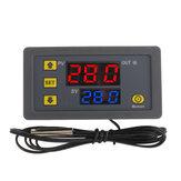 -50~120 ℃ LCD Digital Thermometer Temperature Sensor For Home Thermal Regulator Controller AC110-220V