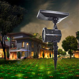 Imperméable à l'eau solaire Power Laser Lights Projector Outdoor LED Garden Party Christmas Solar Garden Light