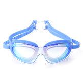 Gafas de natación para adultos Impermeable Anti-niebla UV Proteger Natación Buceo Gafas W / Caja
