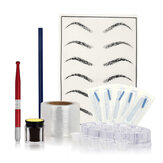 Eyebrow Tattoo Pen Pigment Set Practice Embroidery Kit