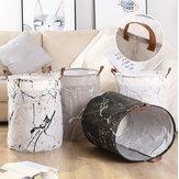 Cesto de roupa suja Cesto para lavar roupas Classificador Sacos de armazenamento Saco de lixo dobrável