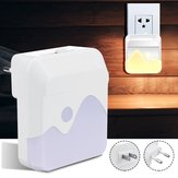 LED Night Light Dusk To Dawn Sensor Plug In dimmerabile Bambini Nursery Safety AC110-240V