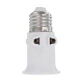 AC100-240V 4A E27 ABS Spina UE Connettore Accessori Adattatore lampadina lampada Base supporto Vite Luce presa di corrente
