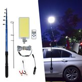 800W COB Waterproof Outdoor Lantern Rod Fishing Camping Light Remote Control DC12V Portable Emergency Lamp for Road Trip