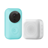Zero AI Face Identification 720P IR Video Doorbell Set Motion Detect Intercom Free Cloud Storage Voice Charger Talk From Xiaomi Youpin