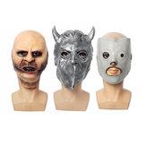 Slipknot Joey Máscara Tema de filme de terror de festa de Halloween Máscara Fantasma assustador Cosplay Prank Prop Para carnaval de fantasia Máscara