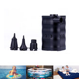 Quick-Fill Electric Air Pump Deflation Inflatable Pump for Camping Travel Air Mattress Beds Inflatable Cushions