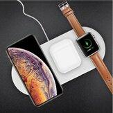 3-in-1 Qi draadloze oplader telefoon snellader voor smart phone Apple Watch-serie Apple AirPods