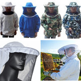 Beekeeping Jacket Veil Smock Equipment Supplies Bee Keeping Hat Sleeve Suit