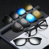 Polarized Clips Magnetic Glasses Myopia Swappable Sunglasse