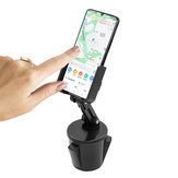 360 ° Dönme Evrensel Ayarlanabilir Bardak Tutucu Araba Telefon Tutucu Akıllı Telefon için iPhone için Samsung Xiaomi Huawei Orijinal değil