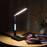 USB 45LED Table Desk Lámpara Luz de noche de lectura recargable plegable