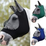 Full Face Anti UV Anti Fly Horse Masque Ear Cover Armor Mesh