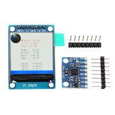 IIC I2C GY-521 MPU-6050 MPU6050 Akcelerometr czujników żyroskopowych 3-osiowych + moduł LCD 1,3 cala 3-5 V DC Geekcreit dla Arduino - produkty współpracujące z oficjalnymi tablicami Arduino