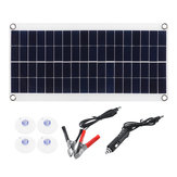 30W 18V Polysilicon Solar Panel Power System til båd / tag / camping