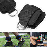 Fitness Ankle D Ring Straps Gym Weight Lifting Exercise Cuff Pulley Attachment Leg Strength Training Foot Buckle