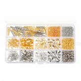 960pcs / Set Jewelry Making Kit DIY Earring Findings Hook Pins Mixed Handcraft Accessories