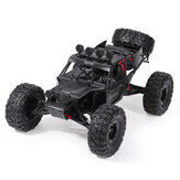 Eachine EAT04 1/12 2.4G 4WD Brush Rc Car Metal Body Shell Desert Terreinwagen RTR Toy Zwart