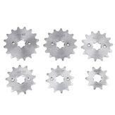 420 10/12/13/14/15/16 Dente Roda Dentada Dianteira 17mm Para 70cc 110cc 125cc Pit Dirt Bike Substituição de Acessórios