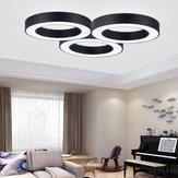30W LED Lámpara de techo Panel redondo de forma redonda Inicio 3 colores Iluminación 110V-220V