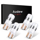 Audew T10 3030 SMD Voiture LED Intérieur Ampoule Éclairage Intérieur Lampe De Stationnement 6000 K Xenon Blanc Canbus Erreur Sans Imperméable À L'eau 4 Pcs