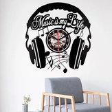 Emoyo EHJ85 Yaratıcı Duvar Saat 3D Duvar Saat Kuvars Duvar Ev Ofis Süslemeleri Için Saat