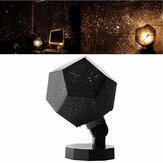 3 färger / varm färg lampa ljus heminredning romantisk astro stjärna projektion kosmos nattlampa sovrum dekoration belysning prylar projektor