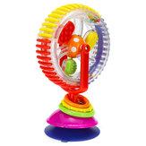 Baby Kid Rainbow Creative Observe Ferris Wheel Rattle Educational High Chair Toys