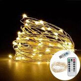 7M IP65 8 Modos USB 50LED Fairy String Light para exterior Indoor Garden Holiday Party Wedding
