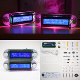 Geekcreit® DIY Candlelight Effect LCD1602 Kit d'horloge de vibration DIY