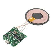 5V Qi Wireless Charger PCBA Circuit Board W/ Coils Creative Module Charging DIY