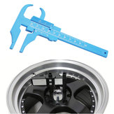 0-100MM 0.5MM Simple Reading Plastic Caliper Beauty Caliper Gift Caliper